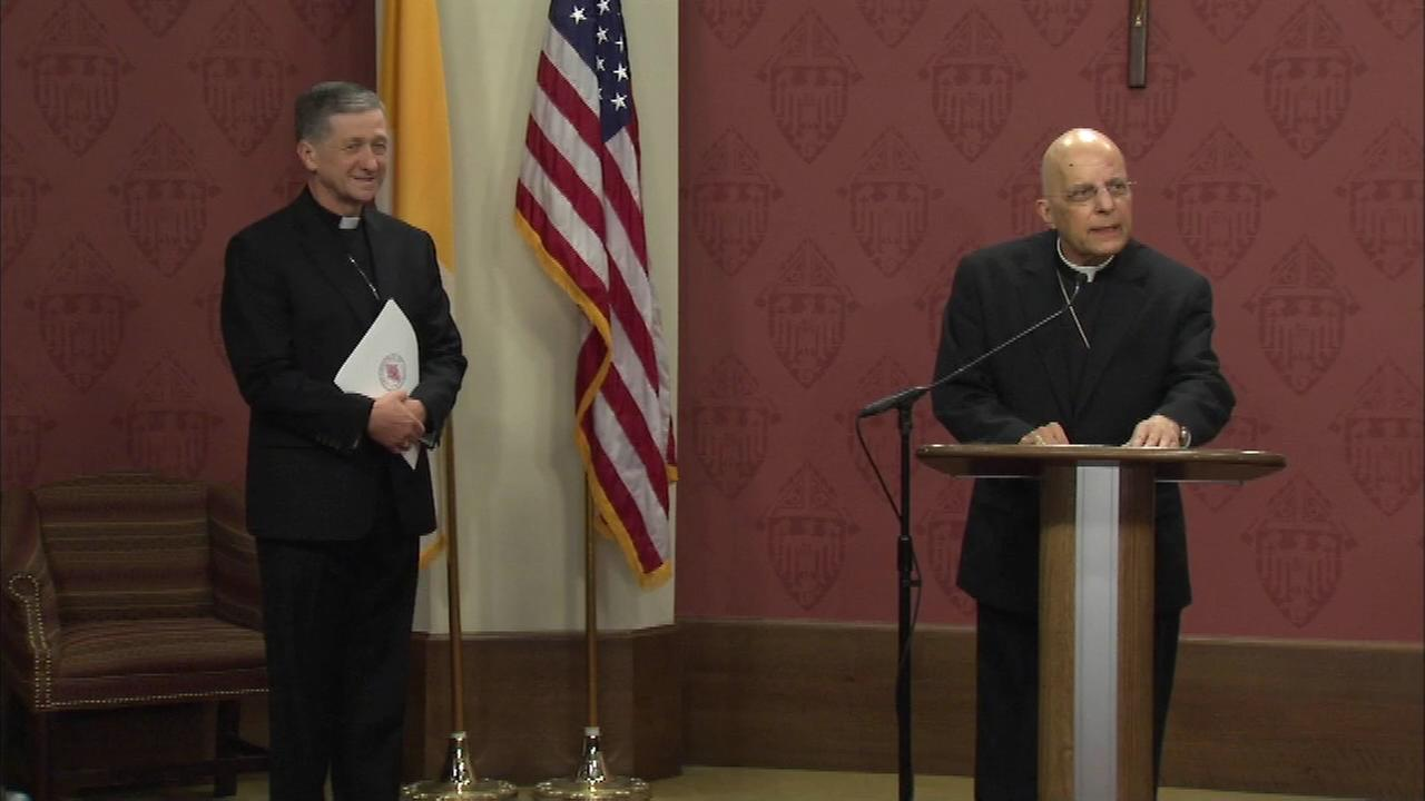 Francis Cardinal George introduces Archbishop-Elect Blase Cupich.