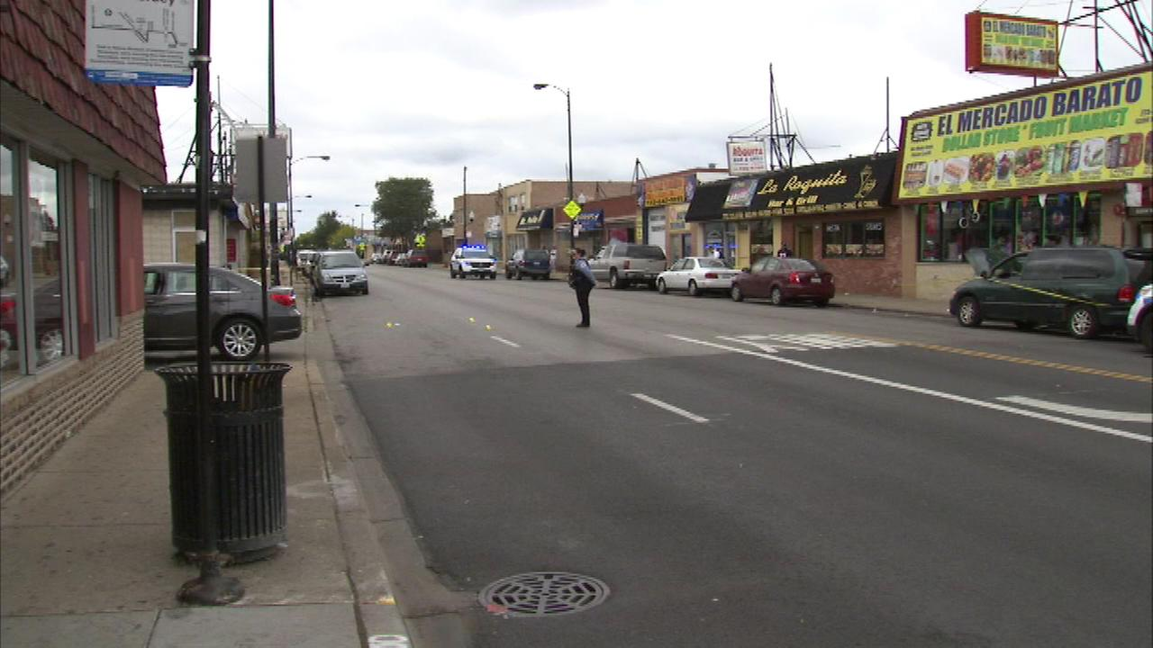 A woman is recovering after getting shot in the leg on Chicagos Northwest Side around 11 a.m. on Sunday morning. in the 5200 block of West Diversey.