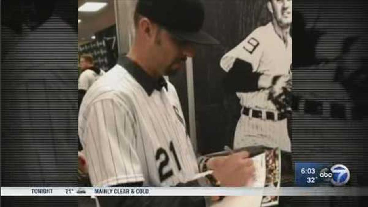 Two weeks before Chicago all-star pitcher Esteban Loaiza was arrested on drug charges, he appeared at SoxFest.