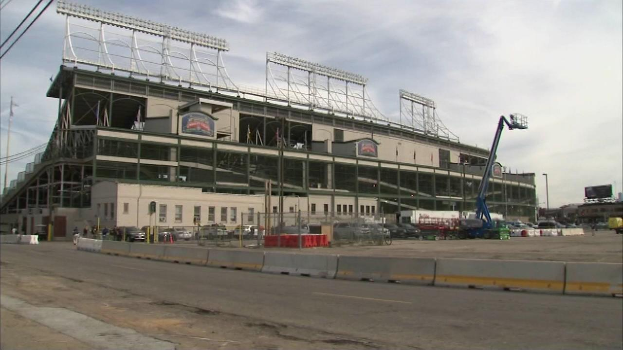 The Chicago Cubs will play their final home game of the season at Wrigley Field Wednesday night and then the $525 million expansion project will begin.