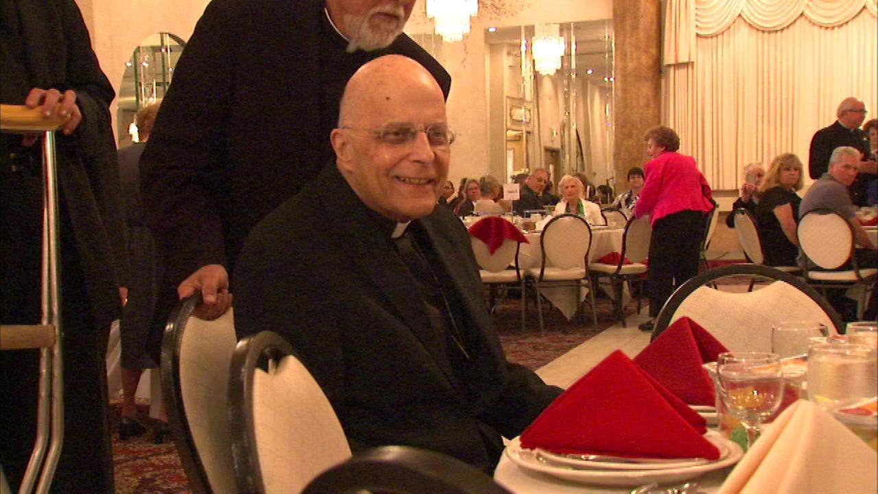 Francis Cardinal George is honored Sunday at a rare public appearance since his successor was announced last weekend.