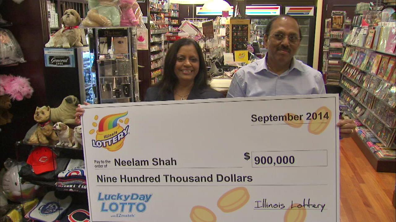 A Chicago woman is $900,000 richer, after trusting her instincts.