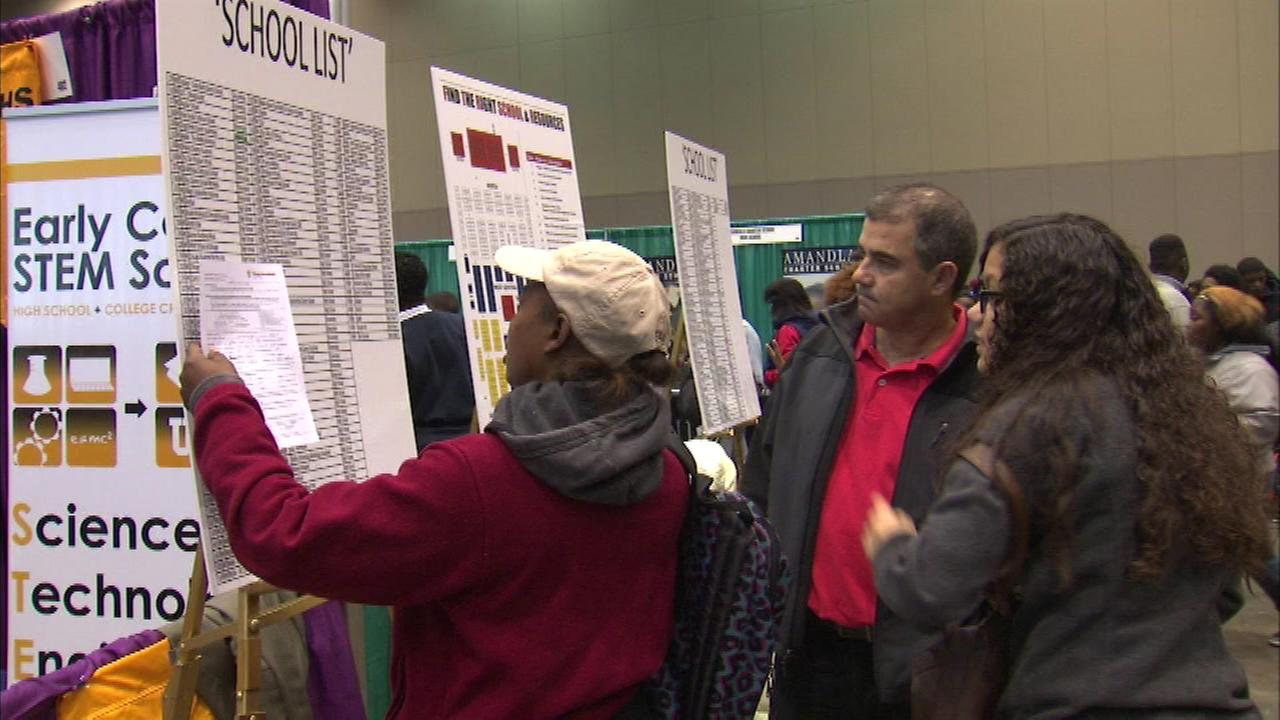 Educational programs at Chicago Public High Schools are being showcased this weekend at McCormick Place.