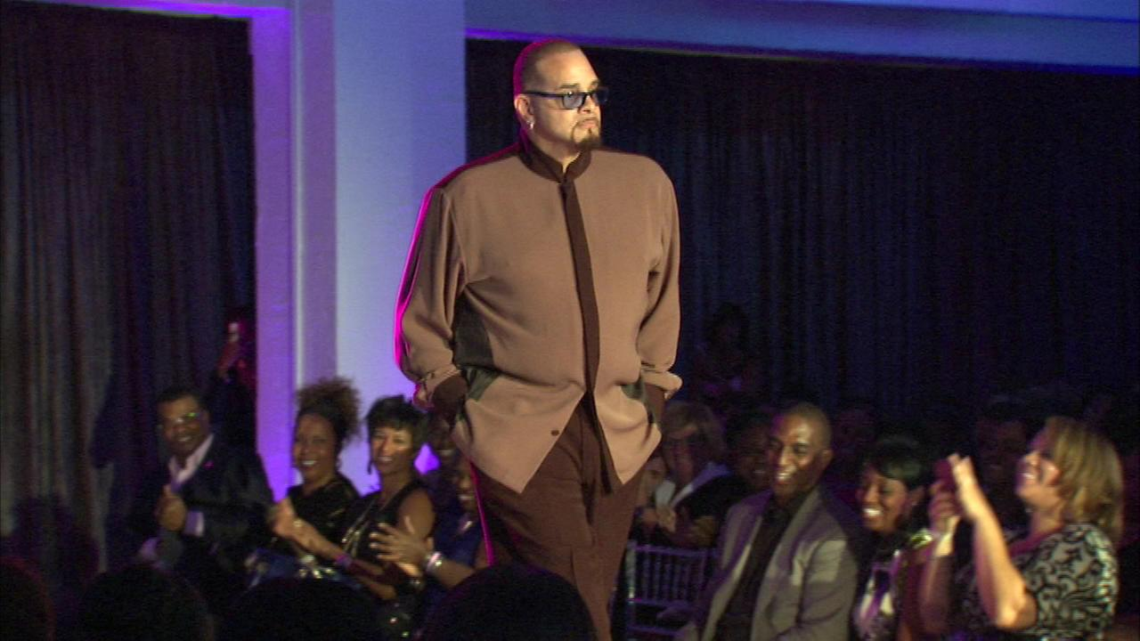 Models hit the runway to Knock Out Breast Cancer at a fashion show on Chicagos West Side.