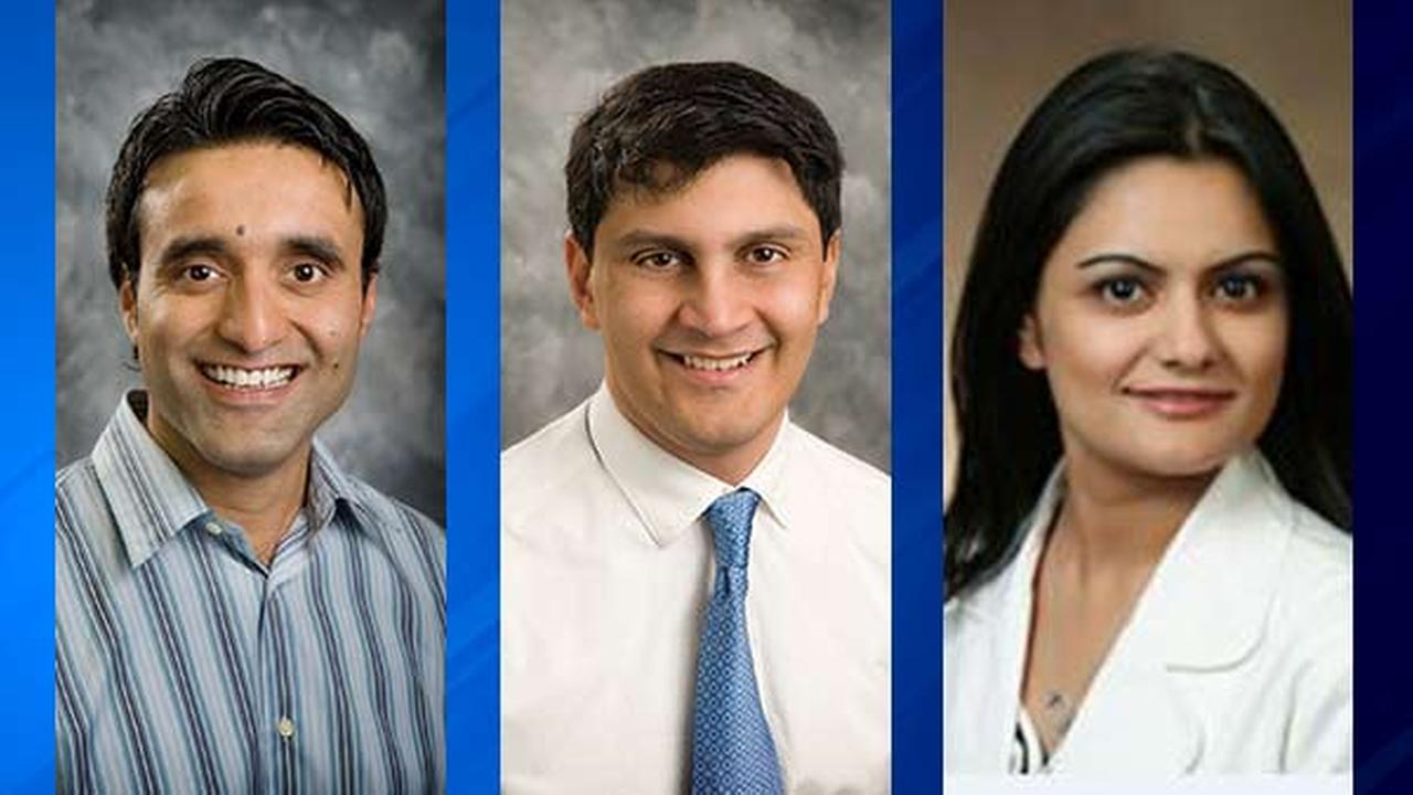 From left: Dr. Ali Kanchwala, Dr. Tausif Rehman, Dr. Maria Javaid. (Photos: Stormont-Vail HealthCare, Providence Medical Center)