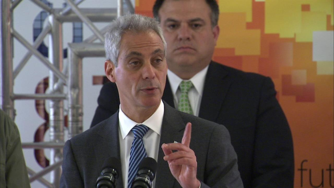 Mayor Rahm Emanuel, Choose Chicago and Microsoft officials announced Microsoft Ignite is coming to McCormick Place in May of 2015.