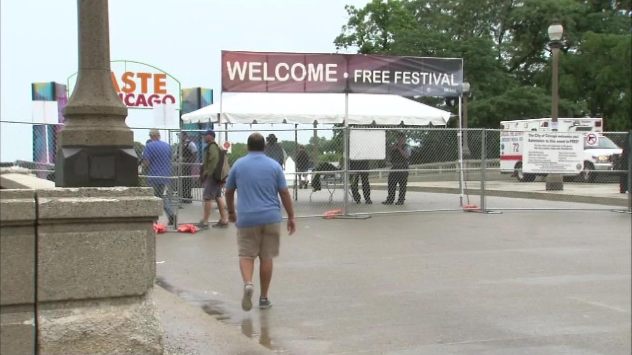 The city says the Taste of Chicago attracted 1.1 million visitors this past summer even though it was rained out on whats usually its biggest day, Saturday.