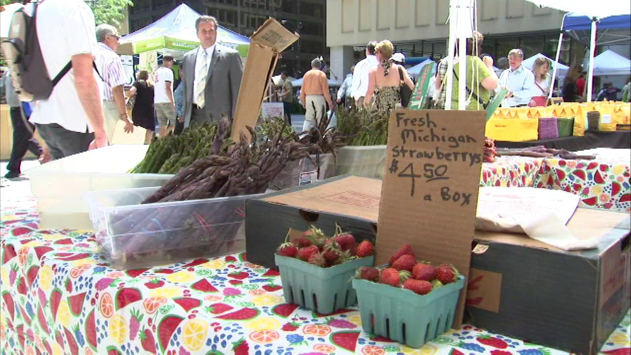 The United States Department of Agriculture is helping Chicagos farmers markets grow.