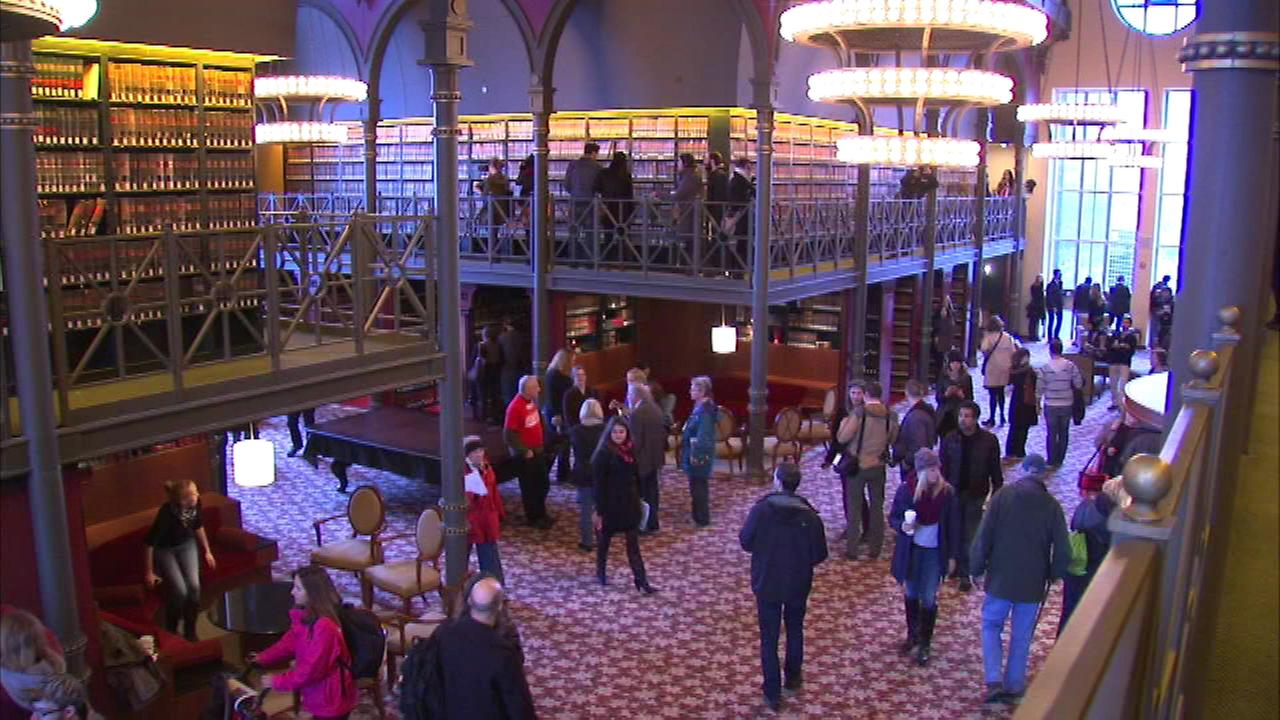 Open House Chicago is offering people behind-the-scenes looks at 150 buildings across the city this weekend.