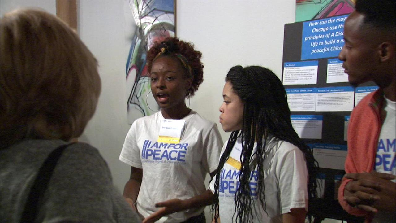 A documentary about kids who launched a campaign to stop the violence on Chicago streets debuted Friday night.