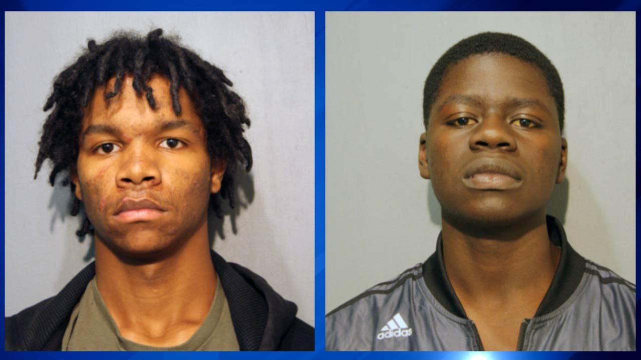 Jordan Bailey and Abdourahmane Soumare, both of Chicago, were charged with attempted robbery and firearm discharge.