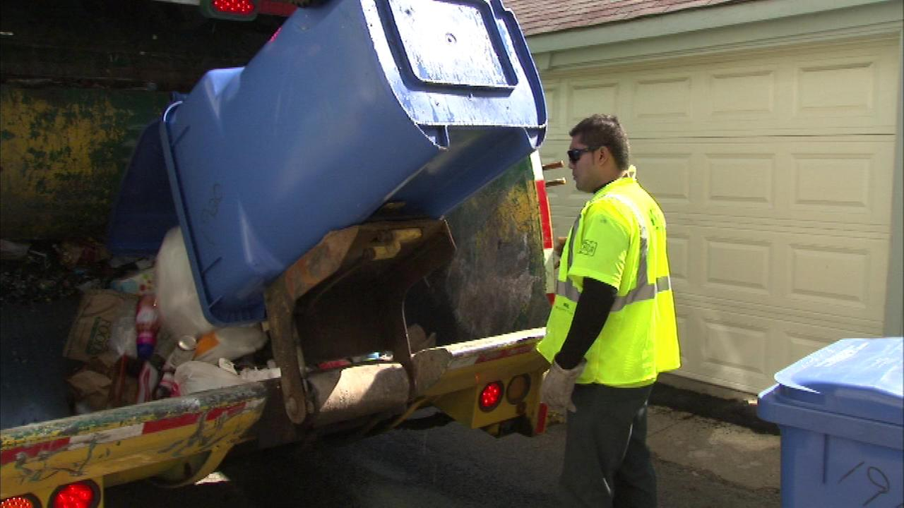 To date this year the city of Chicago has collected approximately 80,000 tons of recycling.