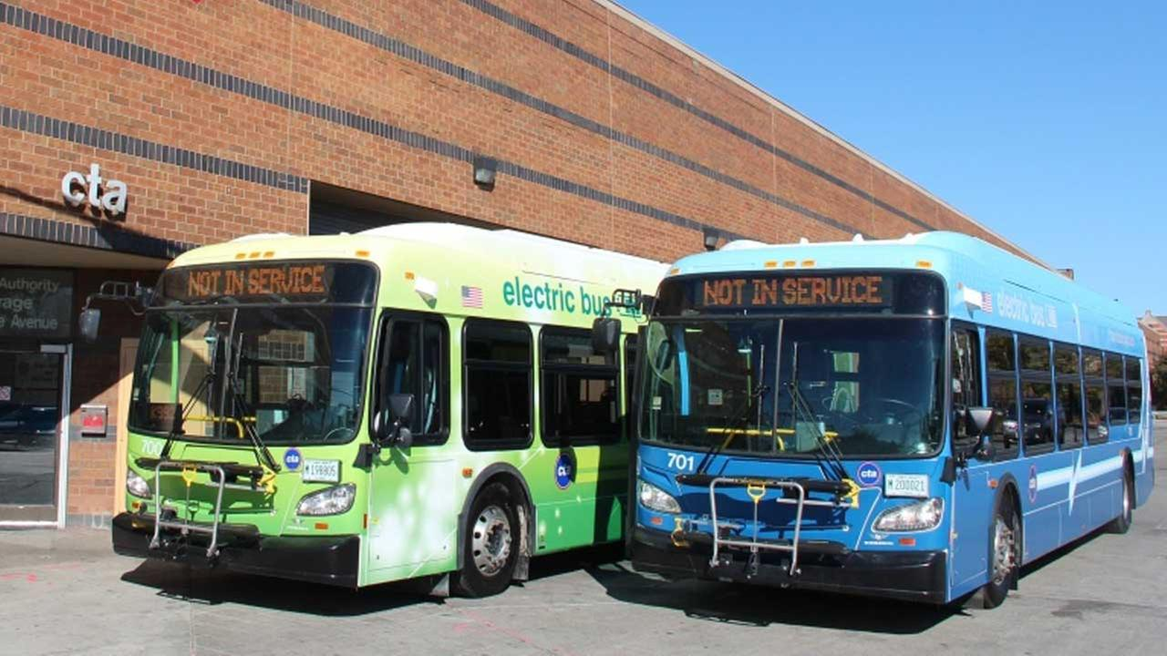 photo of cta buses electric s great installation of wiring diagram \u2022  cta unveils all electric buses abc7chicago com cta new flyer bus chicago cta