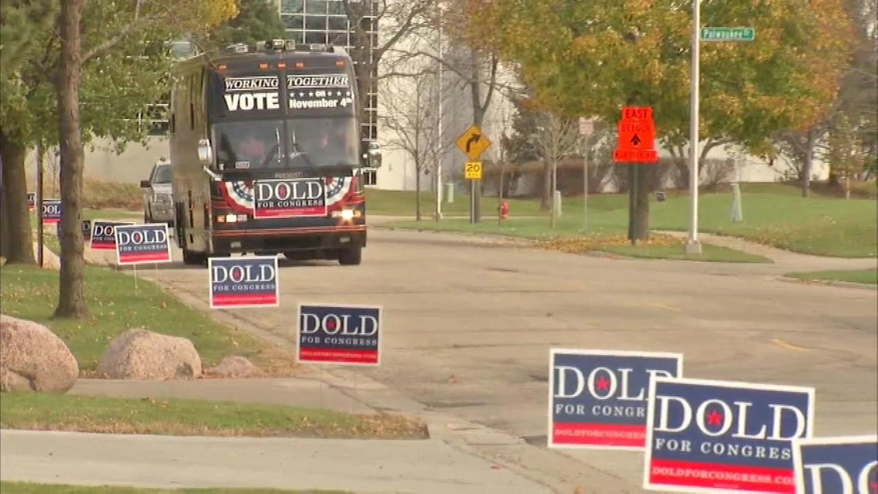The race for the 10th Congressional District will be a closely watched contest Tuesday.