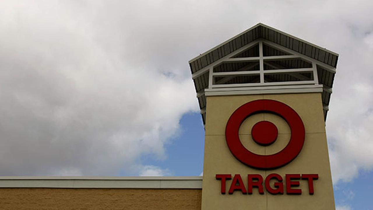 The Target logo is seen on the front of a Target store, Tuesday, Nov. 7, 2007 in Mechanicsburg, Pa.