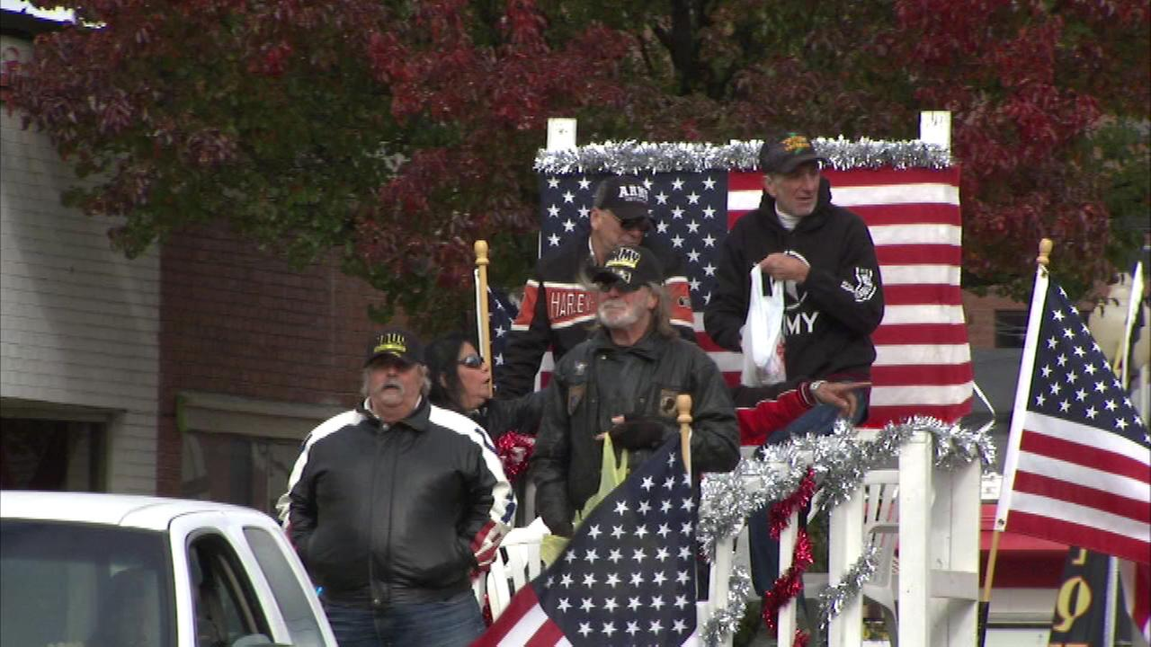 The people of Hammond, Indiana paid tribute to the men and women who have served in the military Saturday when the city held its Veterans Appreciation Day Parade.