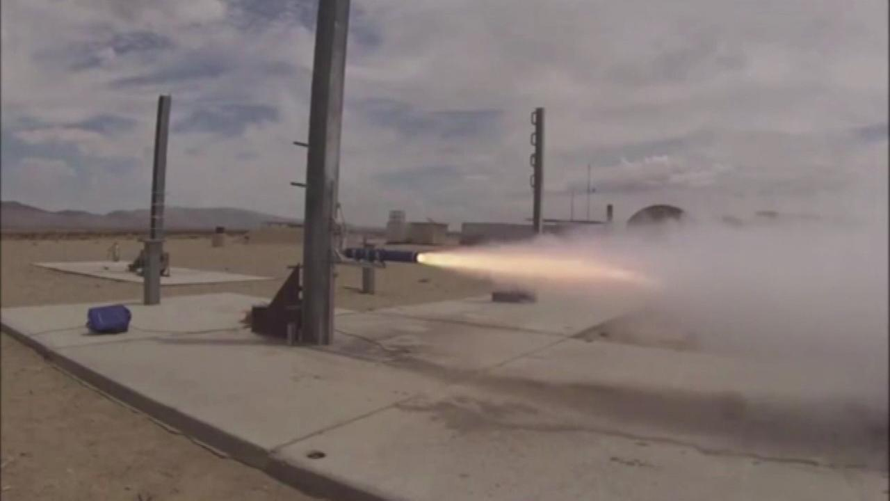 A group of students in California are trying to be the first in the country to launch a rocket into space.