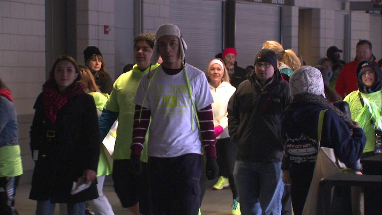 The annual St. Jude Give Thanks Walk was held at Soldier Field on Saturday.