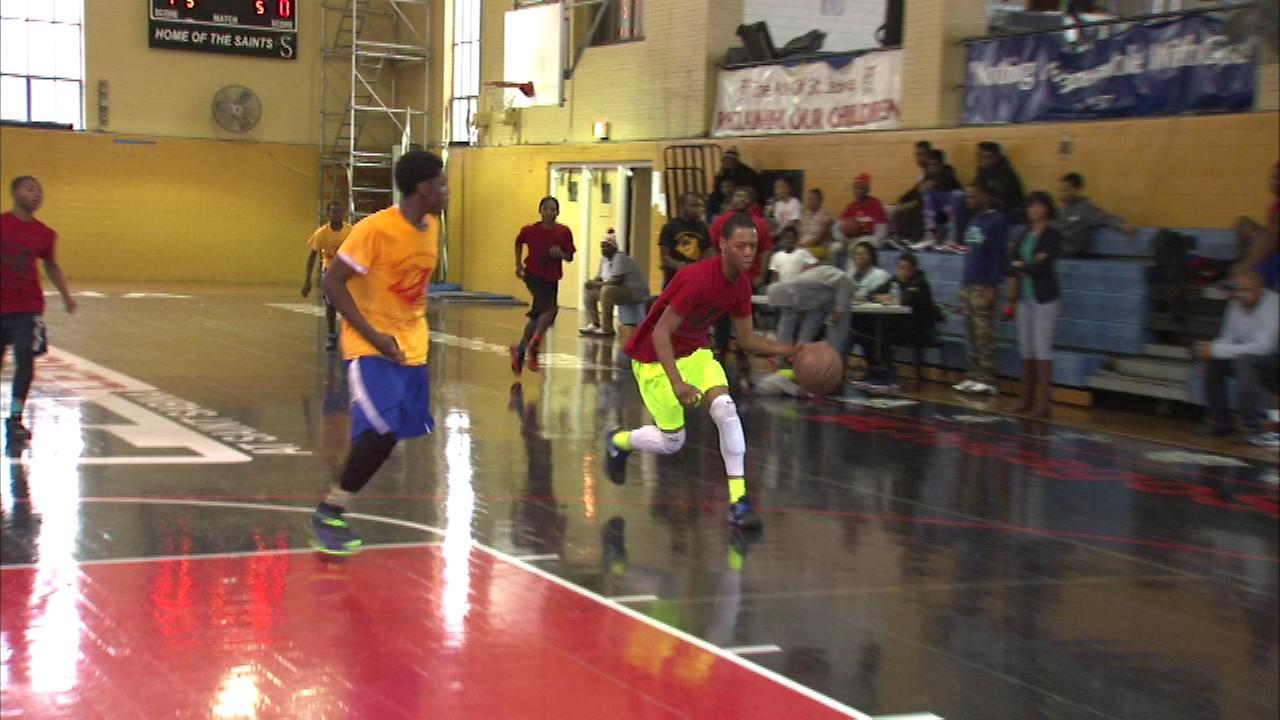 A South Side church is giving the citys youth a safe environment to play sports in an effort to help curb violence.