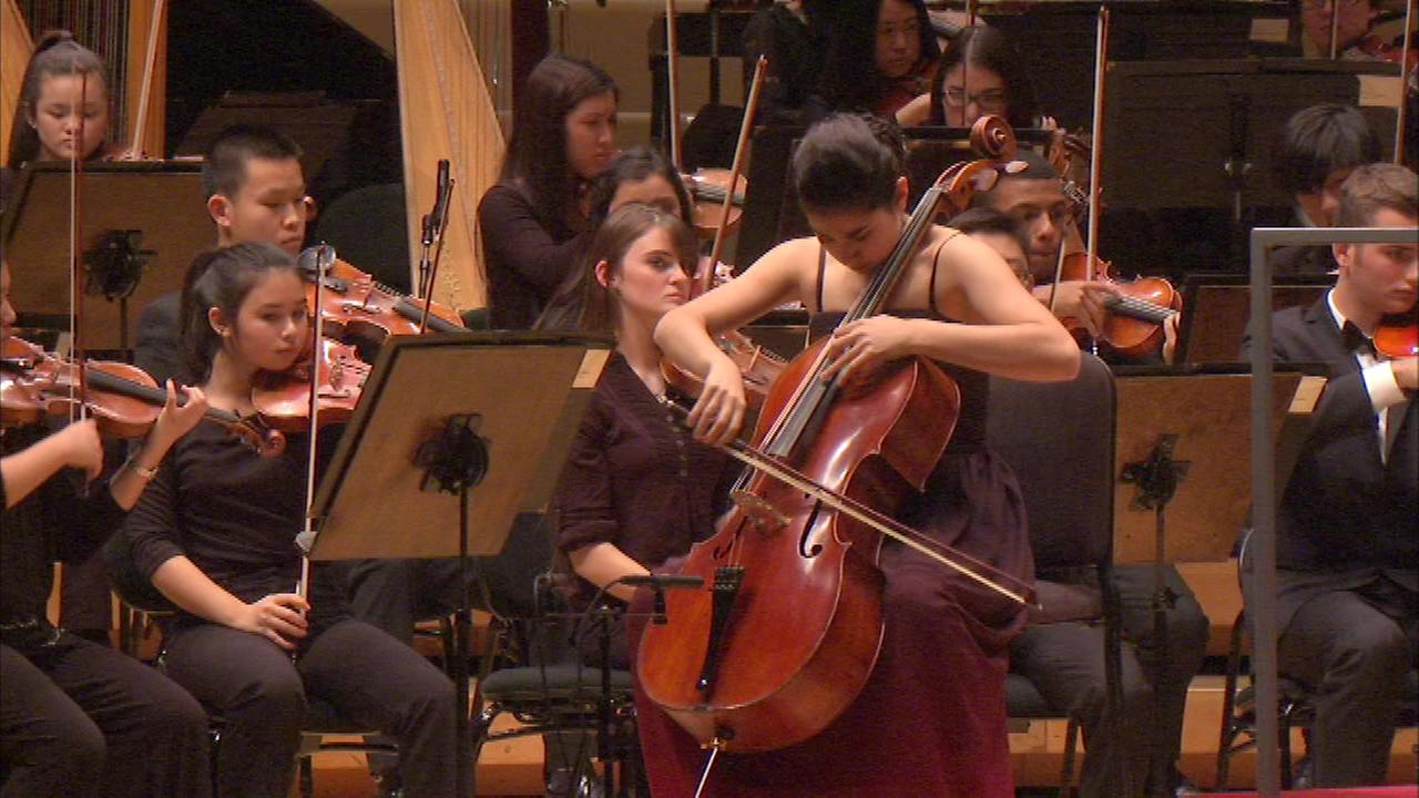Some of most talented and dedicated student musicians from the Chicago area performed at the Chicago Youth Symphony Orchestras fall season opener Sunday night.
