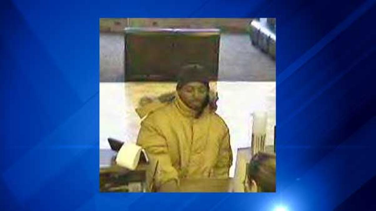 Surveillance photo of suspect in bank robbery in the 1700-block of West 47th Street in Chicago.