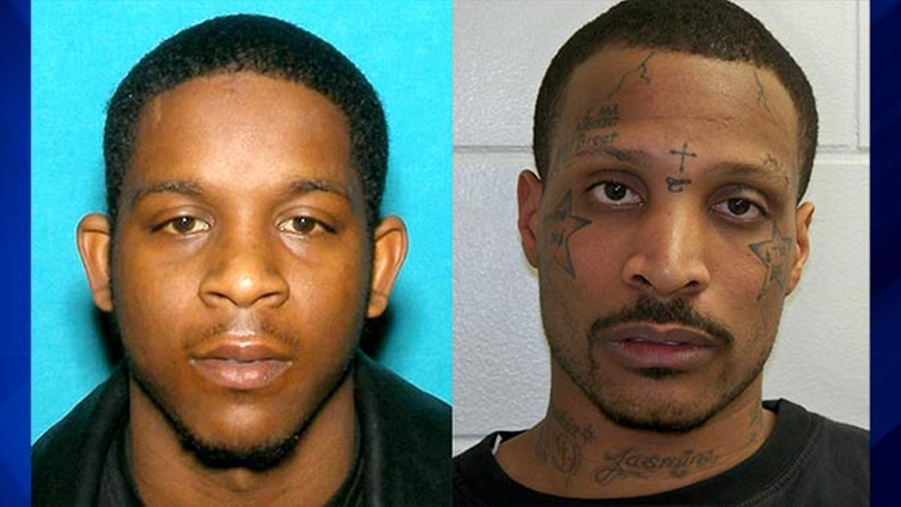 Damien Hill, 23, (LEFT) turned himself into La Porte County authorities Sunday; James A. Mitchell (RIGHT) has been added to the Michigan City Ten Most Wanted list.