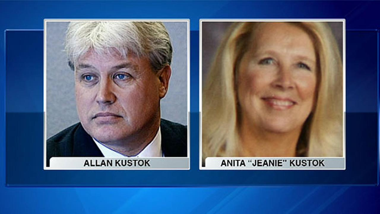 Allan Kustok was found guilty of shooting his wife, Anita Jeanie Kustok, in March 2014.