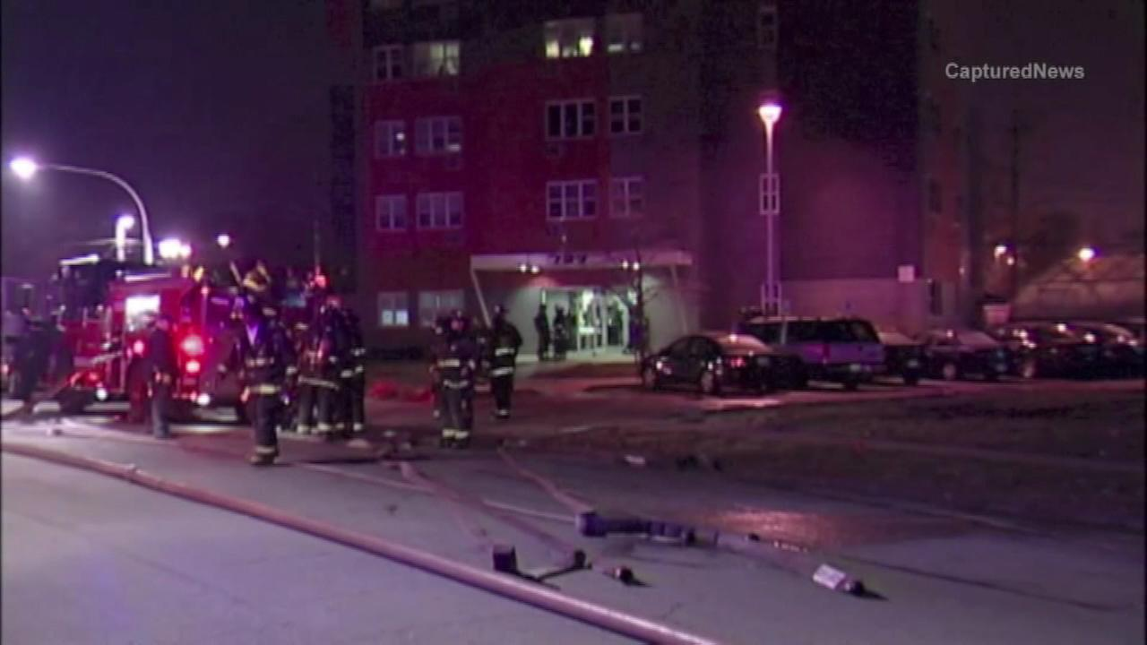 A 51-year-old man died and two others were injured in a fire on Chicagos South Side Thursday night, police said.