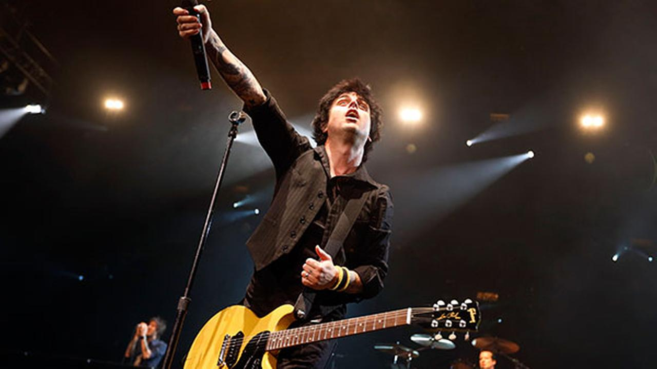FILE In this April 7, 2013 photo, Billy Joe Armstrong performs during a Green Day concert in New York. Green Day and Lou Reed are among 2015s Rock and Roll Hall of Fame inductees.