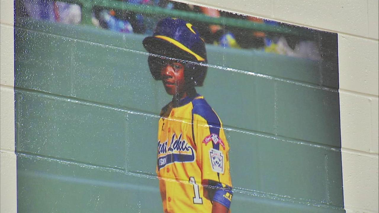 Jackie Robinson West player D.J. Butler is now a member of the Beasley Academic Centers wall of fame.