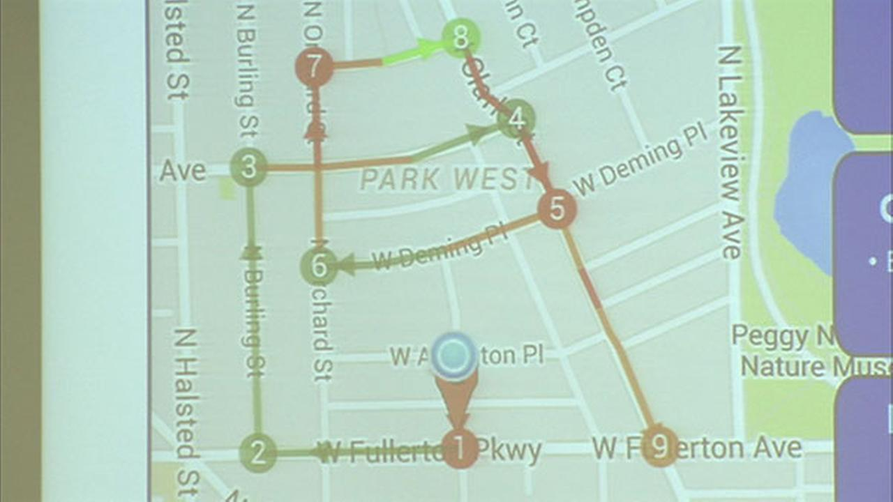 Parknav is a new zone map that can be called up on your cell phone or computer.