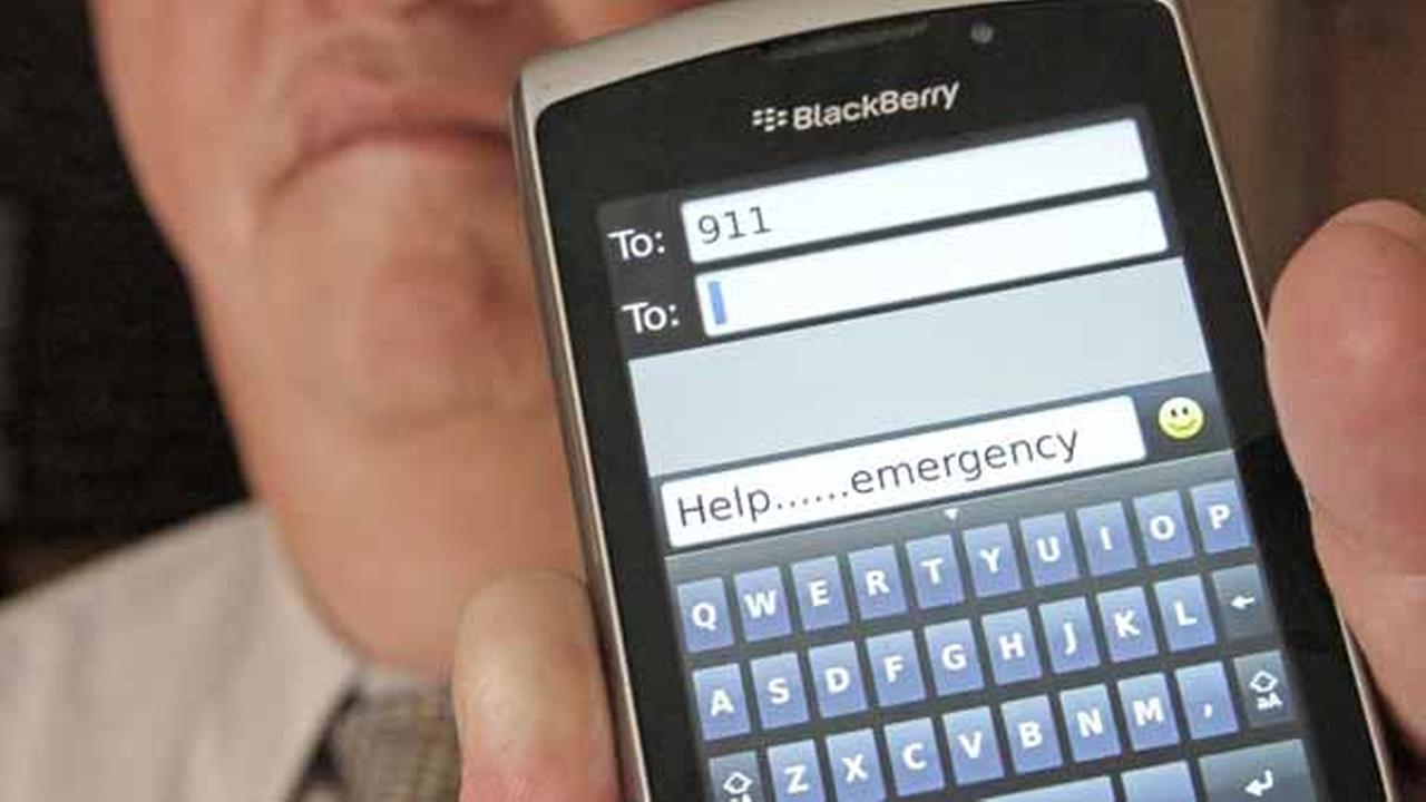 FILE -- More and more people around the nation are able to text 911 during an emergency.