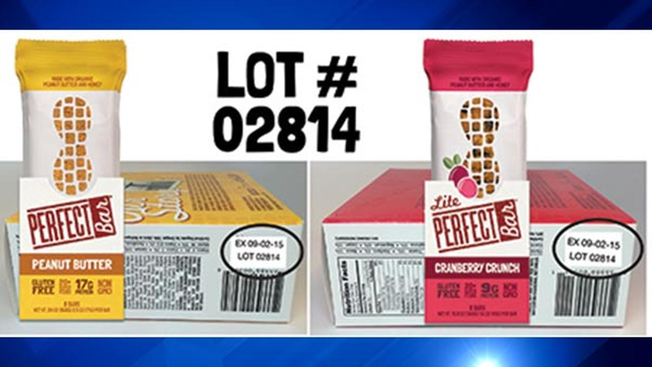 Perfect Bar has recalled its products with these lot numbers.