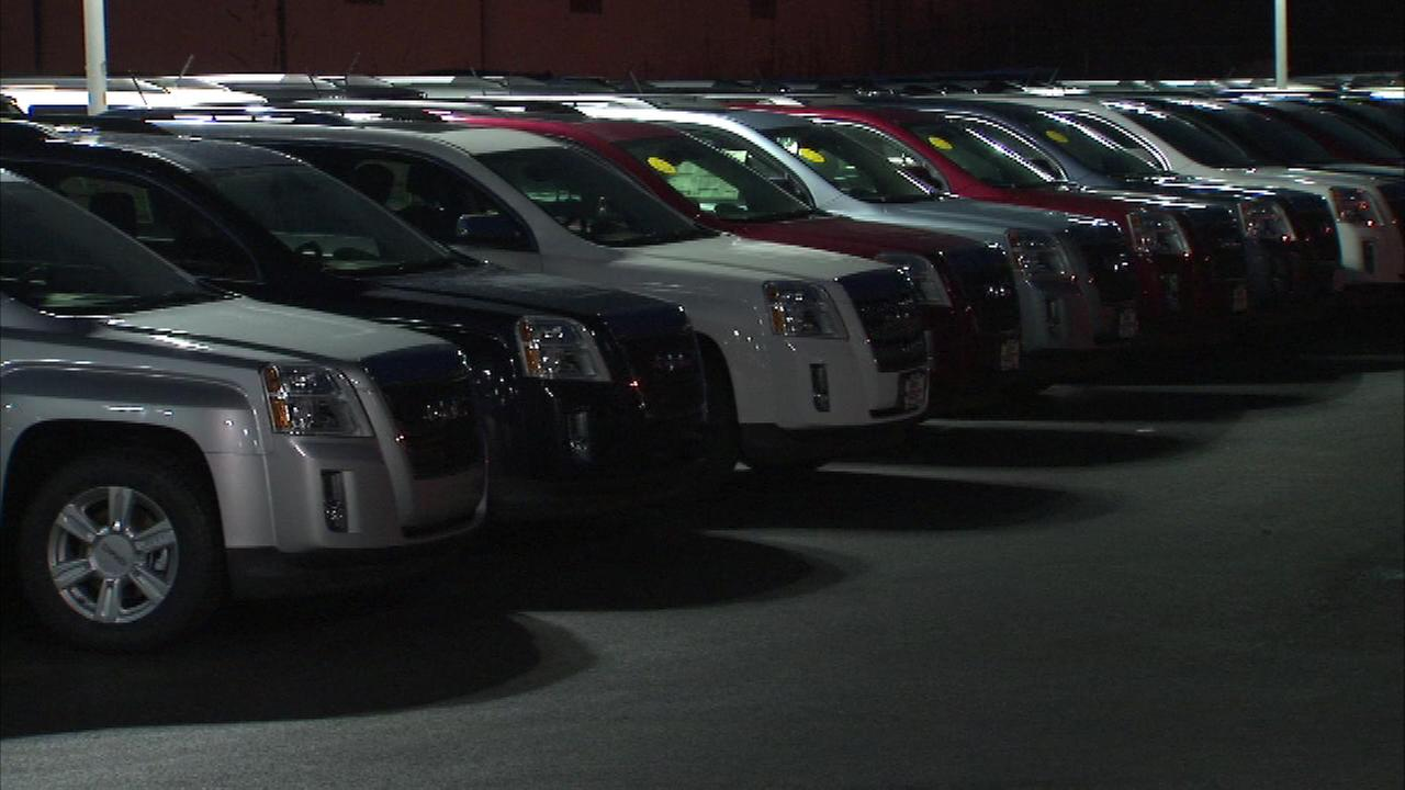 While many in the area are upset about not having a white Christmas, one auto dealership is celebrating.