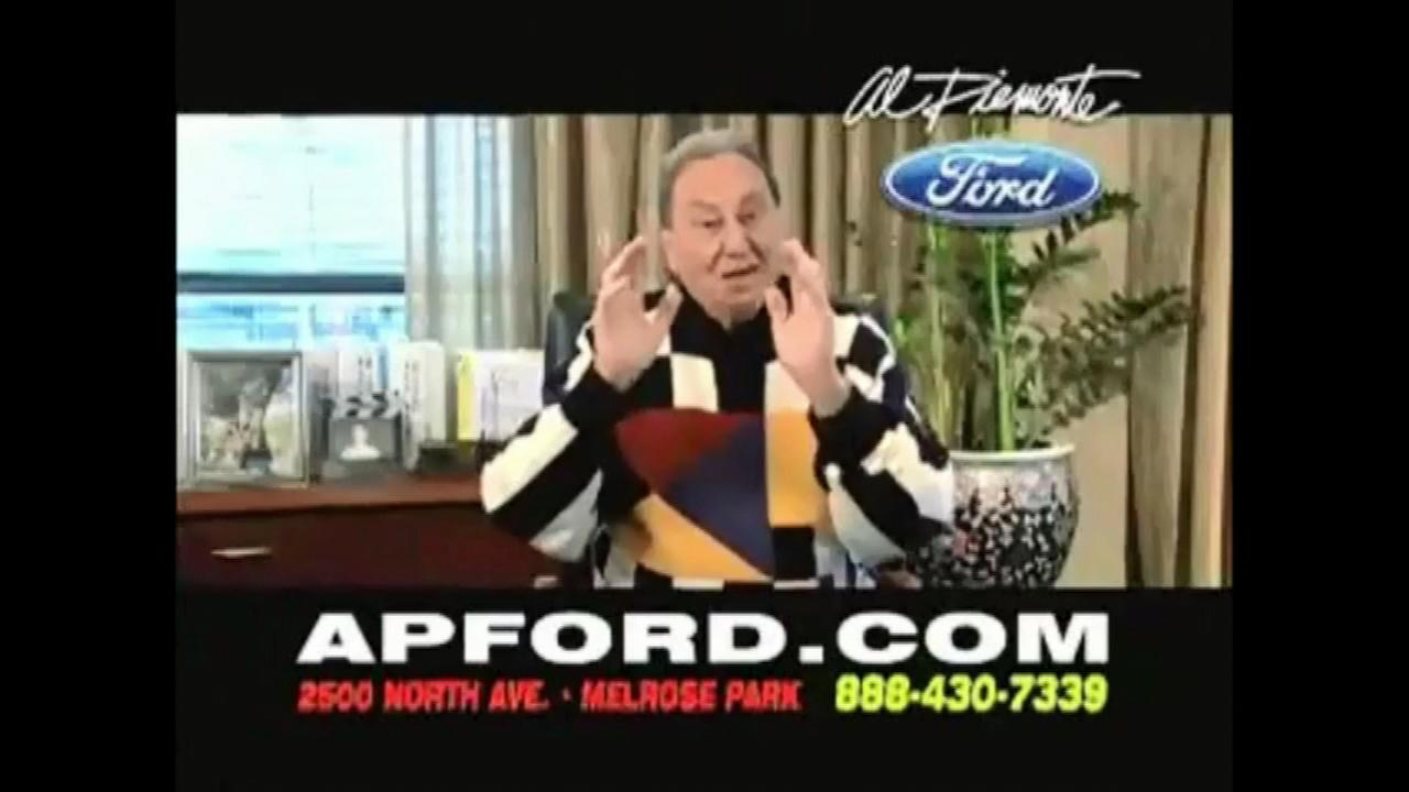 Car dealer Al Piemontes commercials were a Chicago television fixture for 30 years.