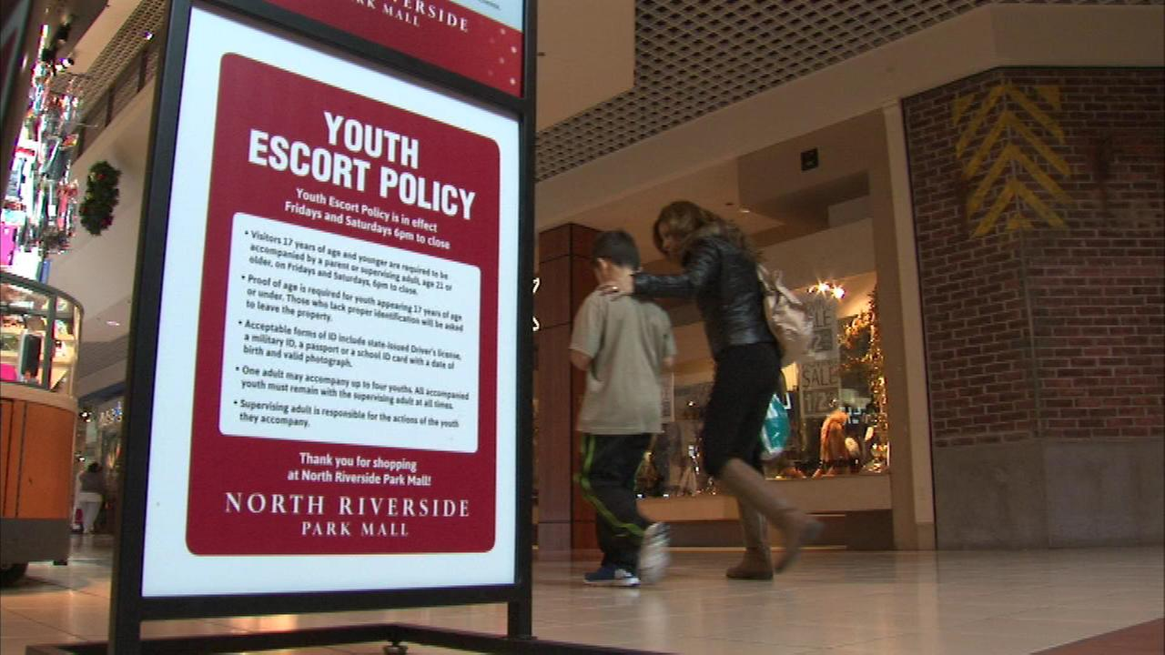 North Riverside Park became the first shopping center in Illinois to implement what is known as a youth escort policy.