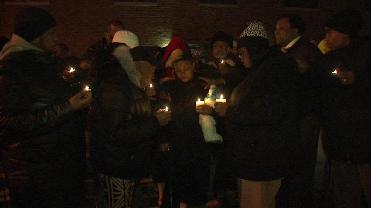 A prayer vigil was held Sunday for a 15-year-old boy who was killed in a shooting on Chicagos Far South Side.