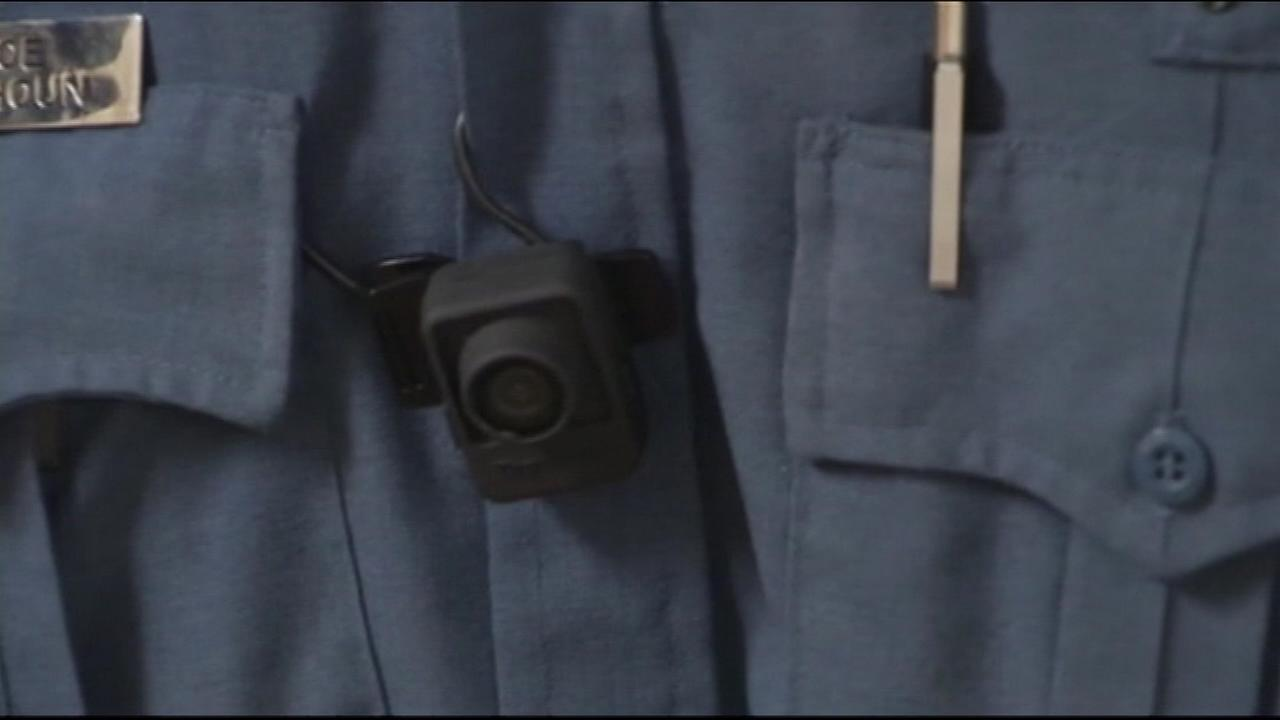 Some Chicago police officers are now wearing body cameras as part of a pilot program.