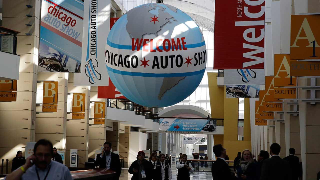 Chicago Auto Shows media preview day at McCormick Place in Chicago on Feb. 6, 2014.AP photo/Nam Y. Huh