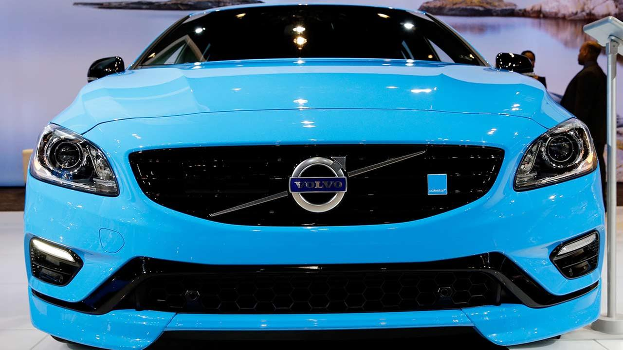 Volvo introduces the V60 Polestar during the media preview of the Chicago Auto Show at McCormick Place in Chicago on Feb. 6, 2014.AP photo/Nam Y. Huh