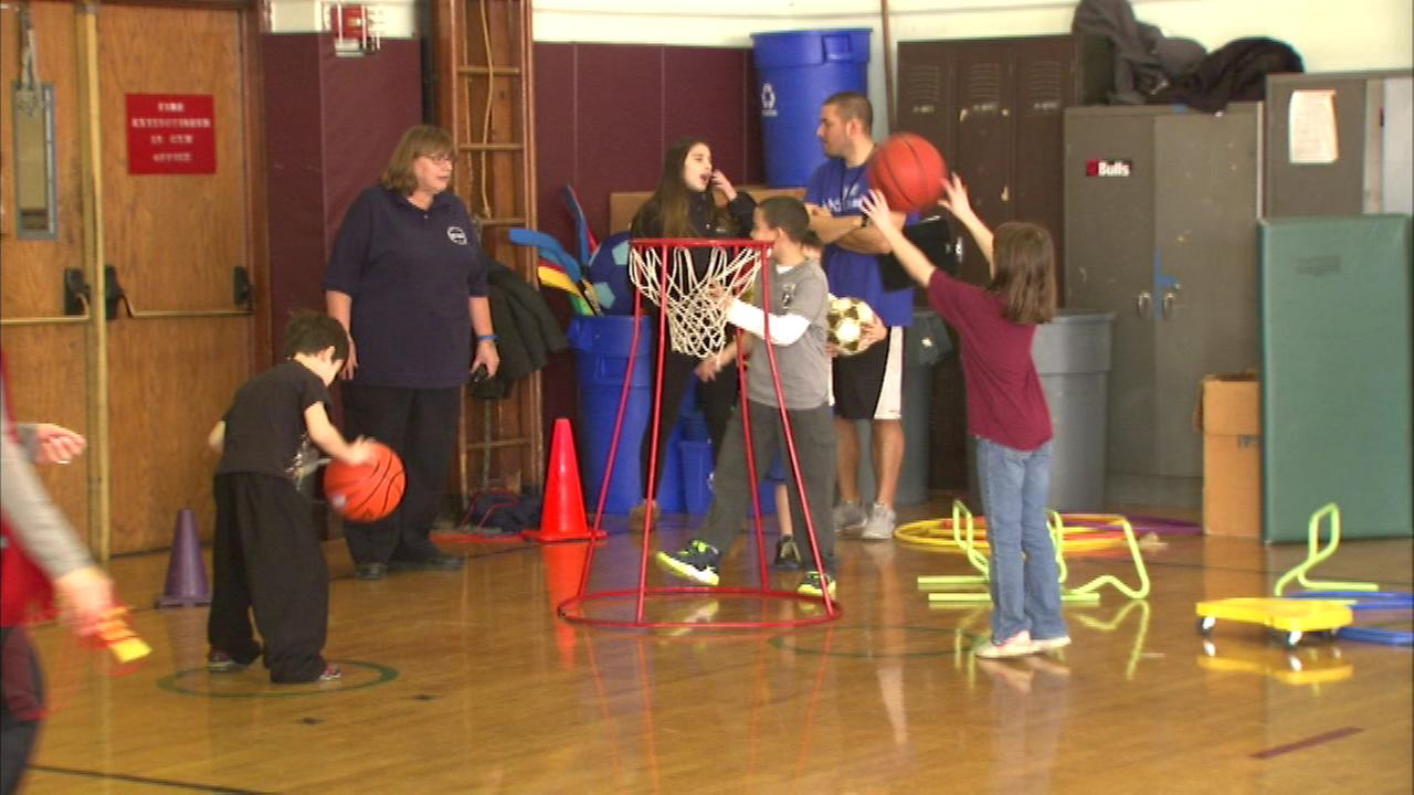 A Northwest Side school is helping neighborhood families stay healthy, as Beaubien Elementary School hosted its first Health and Wellness Fair today.