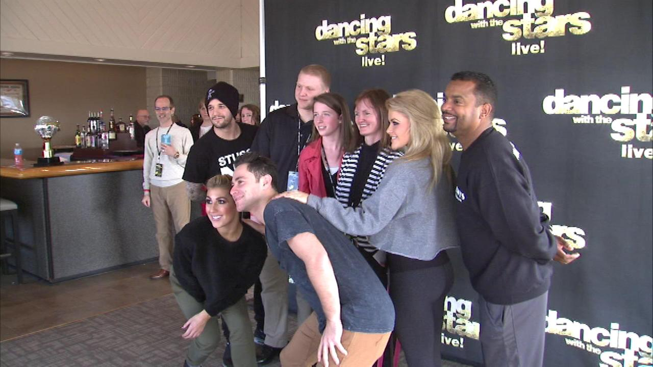 The Dancing with the Stars tour came to northwest Indiana as fans lined up in Merrillville for the chance to meet some of the dancers.