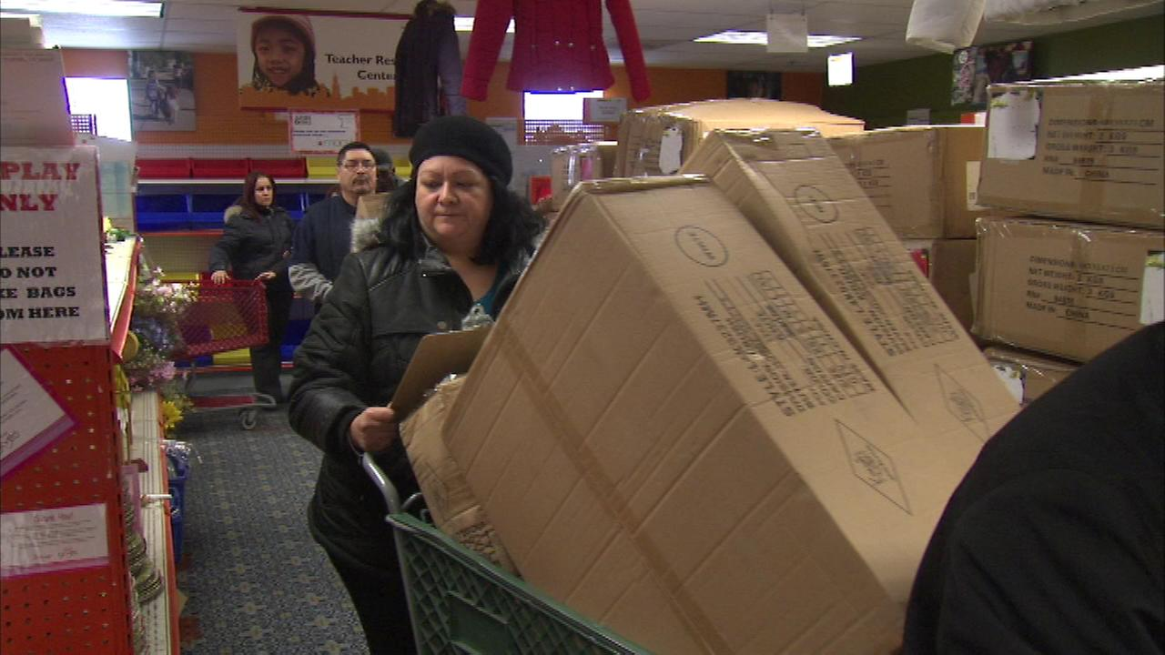 The group Clothes for Souls distributed winter coats donated by Macys on the citys South Side on Tuesday.