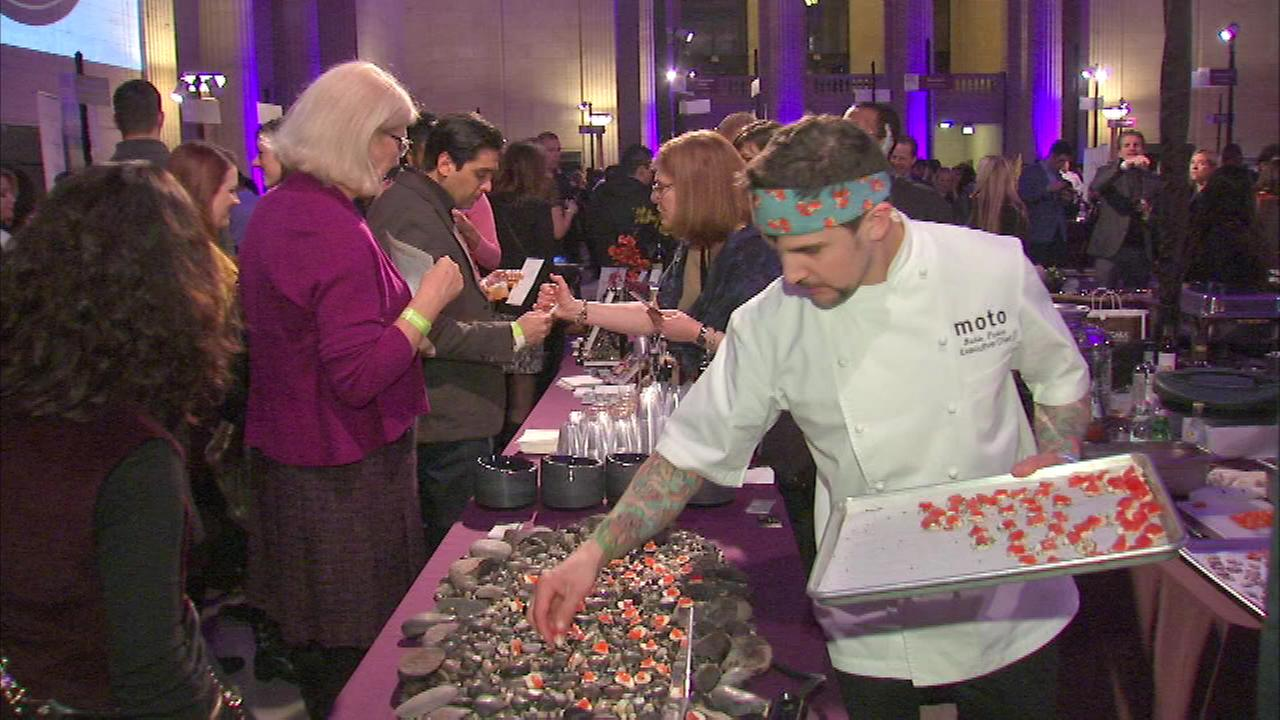 Foodies grazed their way through the first Bites Bash at Union Station.