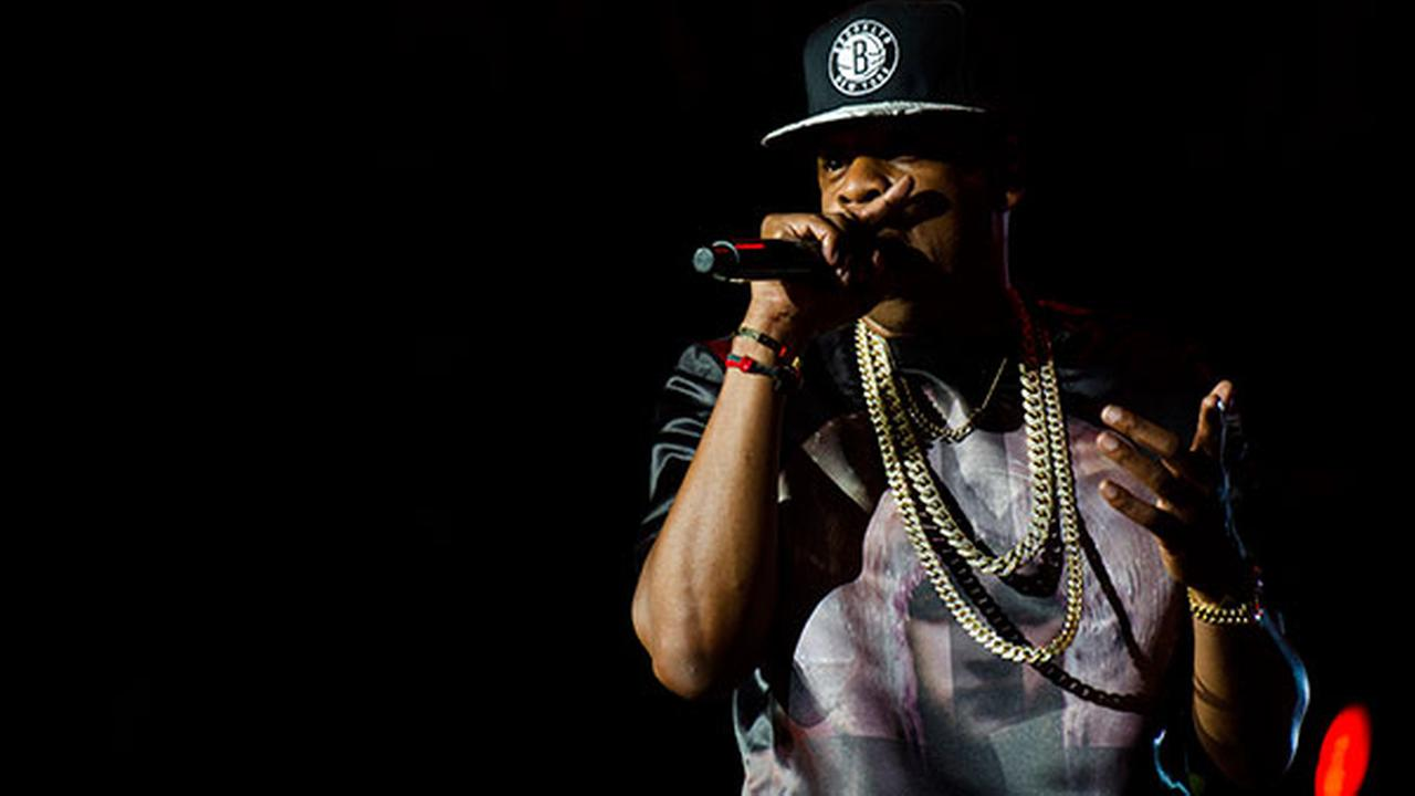 Jay-Z performs at the Made In America music festival on Sept. 1, 2012, in Philadelphia, Pa.