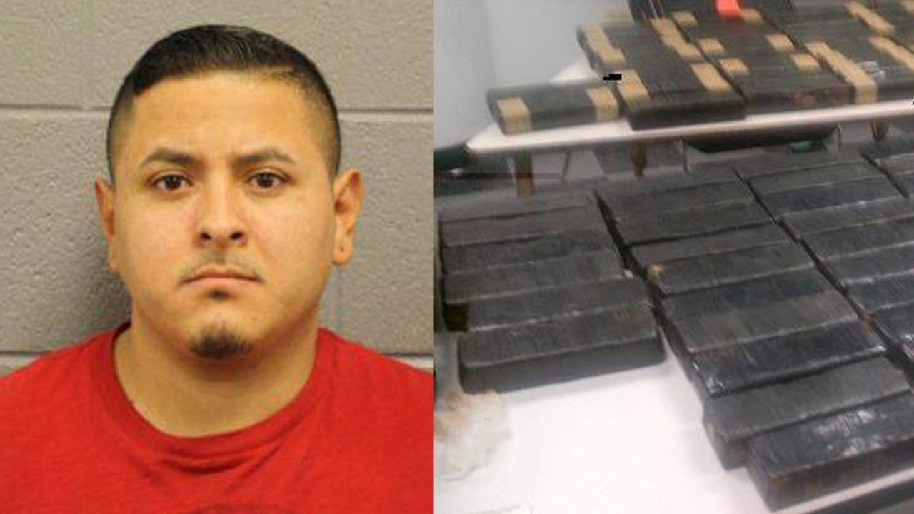 Juan Roberto Vasquez arrested after police say they found over $6 million in cocaine in his car.