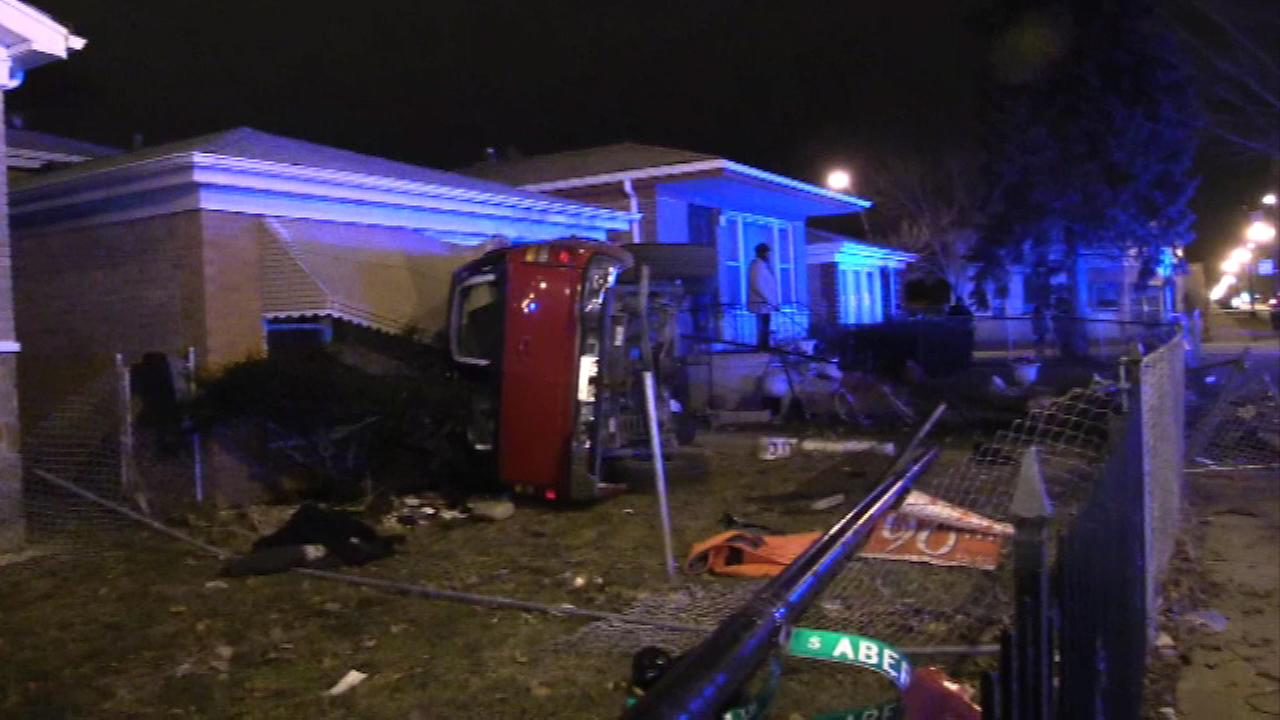 Chicago Police are investigating a deadly crash in the citys Morgan Park neighborhood.