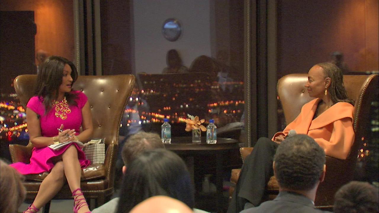 ABC7s Cheryl Burton served as the evenings moderator.