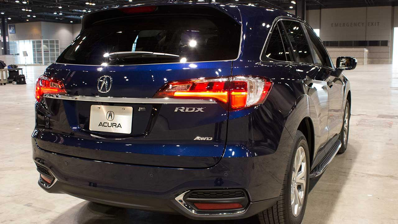 The 2016 Acura RDX during the Concept and Technology Garage event at the 2015 Chicago Auto Show on Feb. 11, 2015.