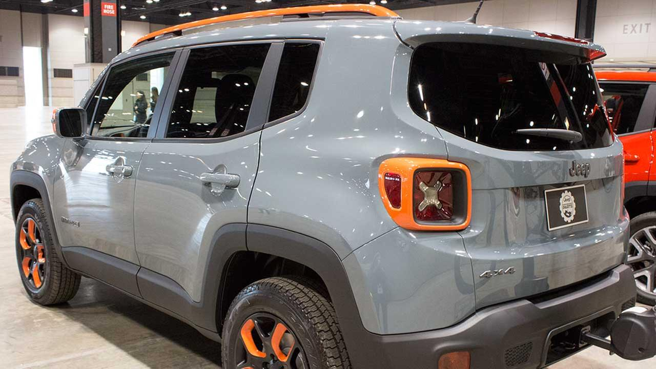 A concept version of the 2015 Jeep Renegade during the Concept and Technology Garage event at the 2015 Chicago Auto Show on Feb. 11, 2015.